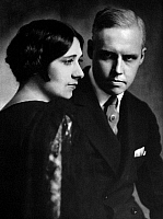 0051515 © Granger - Historical Picture ArchiveCARL VAN VECHTEN (1880-1964).   American writer. With his wife, Fania Marinoff. Photographed in the 1920s by Nickolas Muray.