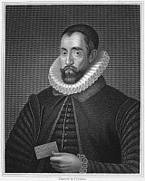 0064202 © Granger - Historical Picture ArchiveSIR FRANCIS WALSINGHAM   (c1532-1590). English statesman. Stipple engraving, English, 1829.