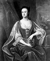 0049156 © Granger - Historical Picture ArchiveCOUNTESS OF WINCHILSEA   (1661-1720). Anne Finch. English poet. Painting by an unknown atrist, 1720.