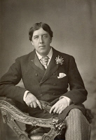 0015602 © Granger - Historical Picture ArchiveOSCAR WILDE (1854-1900).   Irish poet and writer. Photographed by W. & D. Downey, 1889.