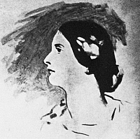 0042241 © Granger - Historical Picture ArchiveLADY JANE FRANCESCA WILDE   (1821-1896). Oscar Wilde's mother. Contemporary drawing.