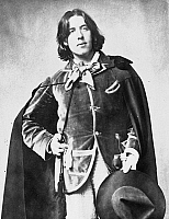 0060158 © Granger - Historical Picture ArchiveOSCAR WILDE (1854-1900).   Irish writer and wit. Photographed in 1882 by Napoleon Sarony at the beginning of Wilde's American tour.
