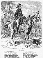 0071864 © Granger - Historical Picture ArchiveDUKE OF WELLINGTON   (1769-1852). Arthur Wellesley, 1st Duke of Wellington. English general and statesman. Wood engraving, German, 19th century.