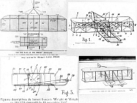 0108591 © Granger - Historical Picture ArchiveWRIGHT BROTHERS PLANS, 1908.   Patented plans of the Wright Brothers' airplane, 1908.