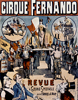 0018758 © Granger - Historical Picture ArchiveFRENCH CIRCUS POSTER.   French circus poster, c1880.