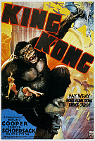 0011552 © Granger - Historical Picture ArchiveKING KONG POSTER, 1933.   'King Kong' film poster, 1933.