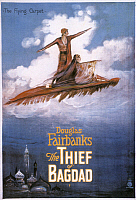 0022087 © Granger - Historical Picture ArchiveFILM: THE THIEF OF BAGDAD:   American movie poster, 1924.