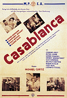 0118156 © Granger - Historical Picture ArchiveCASABLANCA, 1942.   Finnish poster, c1945, for the American film 'Casablanca,' originally released in 1942.