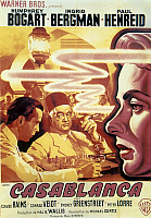 0118159 © Granger - Historical Picture ArchiveCASABLANCA, 1942.   French poster, c1947, for the American film 'Casablanca,' originally released in 1942.