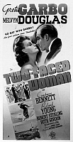 0118168 © Granger - Historical Picture ArchiveTWO-FACED WOMAN, 1941.   Poster for the film 'Two-Faced Woman,' starring Greta Garo and Melvyn Douglas, directed by George Cukor, 1941.