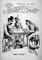 0130101 © Granger - Historical Picture ArchiveTHEATER POSTER, c1898.   This Is It, Johnny on the Spot, a 'Bill Nye' musical farce. Lithograph poster, c1898.