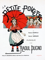 0527856 © Granger - Historical Picture ArchivePOSTER: OPERA, 1895.   Poster advertising the operetta 'La Petite Poucette' by Maurice Ordonneau, Maurice Hennequin, and Raoul Pugno. Lithograph by Maurice Boutet de Monvel, c1895.