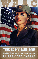 0036833 © Granger - Historical Picture ArchiveWWII: WAAC POSTER, 1942.