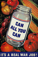 0039669 © Granger - Historical Picture ArchiveWWII: 'CAN ALL YOU CAN'.   American World War II poster.