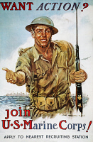 0061833 © Granger - Historical Picture ArchiveWWII RECRUITING POSTER.
