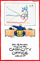 0528558 © Granger - Historical Picture ArchivePOSTER, c1940.   'Yes, of course, ring up the capacity office about it.' Poster by Fougasse, c1940.