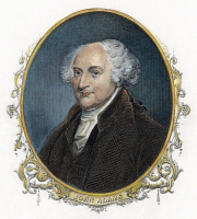 0008173 © Granger - Historical Picture ArchiveJOHN ADAMS (1735-1826).   Second President of the United States. Engraving, 19th century.