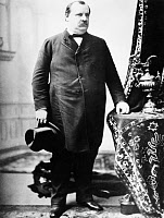 0016769 © Granger - Historical Picture ArchiveGROVER CLEVELAND   (1837-1908). 22nd and 24th President of the United States. Photographed in 1888.