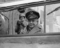 0175692 © Granger - Historical Picture ArchiveDWIGHT D. EISENHOWER   (1890-1969). 34th President of the United States. Photographed as Supreme Allied General during World War II, 1944.