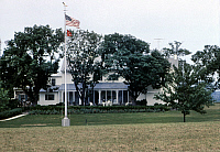0259777 © Granger - Historical Picture ArchiveEISENHOWER HOME, c1966.   Home of Dwight and Mamie Eisenhower in Gettysburg, Pennsylvania. Photograph, c1966.