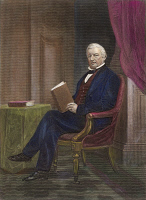 0011078 © Granger - Historical Picture ArchiveMILLARD FILLMORE (1800-1874).   Colored engraving, 19th century.