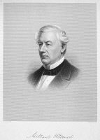 0046318 © Granger - Historical Picture ArchiveMILLARD FILLMORE (1800-1874).   Thirteenth President of the United States. Steel engraving by H.W. Smith after a painting by A. Rockwell, 19th century.