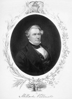 0046319 © Granger - Historical Picture ArchiveMILLARD FILLMORE (1800-1874).   Thirteenth President of the United States. Steel engraving, 19th century.