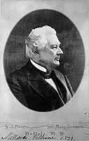 0175809 © Granger - Historical Picture ArchiveMILLARD FILLMORE (1800-1874).   13th President of the United States. Photograph, 1873.