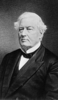 0175811 © Granger - Historical Picture ArchiveMILLARD FILLMORE (1800-1874).   13th President of the United States. Photograph, 1873.