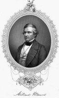 0175812 © Granger - Historical Picture ArchiveMILLARD FILLMORE (1800-1874).   13th President of the United States. Engraving by W.J. Edwards, c1850.