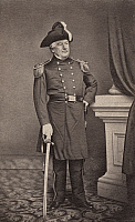 0175814 © Granger - Historical Picture ArchiveMILLARD FILLMORE (1800-1874).   13th President of the United States. Photographed in uniform, c1861.