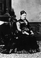 0131677 © Granger - Historical Picture ArchiveJULIA DENT GRANT (1826-1902).   Wife of President Ulysses S. Grant. Photograph, c1869.