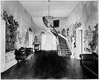 0066798 © Granger - Historical Picture ArchiveHERMITAGE: ENTRANCE HALL.   Andrew Jackson's home at the Hermitage, near Nashville, Tennessee.