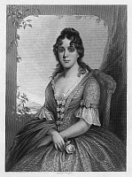 0259951 © Granger - Historical Picture ArchiveMARTHA JEFFERSON RANDOLPH   (1772-1836). Daughter of Thomas Jefferson and White House hostess. Steel engraving, 1855, after a painting by Thomas Sully.