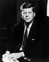 0130333 © Granger - Historical Picture ArchiveJOHN FITZGERALD KENNEDY   (1917-1963). 35th President of the United States. Photographed c1961.