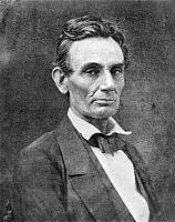 0004294 © Granger - Historical Picture ArchiveABRAHAM LINCOLN   (1809-1865). 16th President of the United States. Photographed at Chicago by Samuel M. Fassett, 4 October 1859.