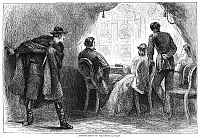 0045186 © Granger - Historical Picture ArchiveLINCOLN ASSASSINATION.   The assassination of President Abraham Lincoln by John Wilkes Booth at Ford's Theatre, Washington, D.C., 14 April 1865. Wood engraving, 19th century.
