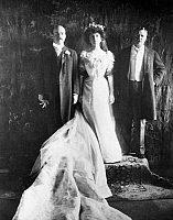 0027733 © Granger - Historical Picture ArchiveTHEODORE ROOSEVELT   (1858-1919). 26th President of the United States. At the White House wedding of his daughter, Alice, to Representative Nicholas Longworth in 1906.