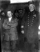 0108723 © Granger - Historical Picture ArchiveJOHN FLAMMANG SCHRANK   (1876-1943). Schrank in police custody after his assassination attempt on former president Theodore Roosevelt on 14 October 1912, in Milwaukee, Wisconsin.