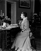0128487 © Granger - Historical Picture ArchiveEDITH ROOSEVELT (1861-1948).   Edith Kermit Carow Roosevelt, wife of President Theodore Roosevelt. Photograph, c1900.