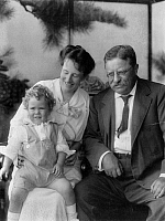 0128505 © Granger - Historical Picture ArchiveROOSEVELT FAMILY, 1915.   Theodore Roosevelt and his wife, Edith, with their grandson, Richard Derby Jr. Photograph, 1915.