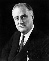 0174696 © Granger - Historical Picture ArchiveFRANKLIN DELANO ROOSEVELT   (1882-1945). 32nd President of the United States. Photograph, c1933.