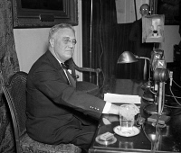 0527580 © Granger - Historical Picture ArchiveFRANKLIN D. ROOSEVELT   (1882-1945). 32nd President of the United States. Photograph, 1935.