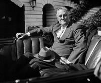 0527585 © Granger - Historical Picture ArchiveFRANKLIN D. ROOSEVELT   (1882-1945). 32nd President of the United States. Photograph, 1936.