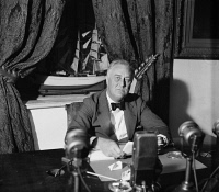 0527586 © Granger - Historical Picture ArchiveFRANKLIN D. ROOSEVELT   (1882-1945). 32nd President of the United States. Photograph, September 1936.