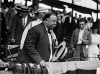 0623191 © Granger - Historical Picture ArchiveWILLIAM HOWARD TAFT   (1857-1930). 27th President of the United States. Taft at a baseball game between Washington, D.C. and Chicago. Photograph, 1913.