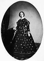 0131415 © Granger - Historical Picture ArchiveMARY ELIZABETH BLISS   (1824-1909). Mary Elizabeth Taylor Bliss. Daughter of President Zachary Taylor and White House hostess. Daguerreotype, c1860.