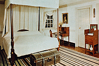 0056497 © Granger - Historical Picture ArchiveWASHINGTON'S BEDROOM.   George Washington's bedroom at Mount Vernon.