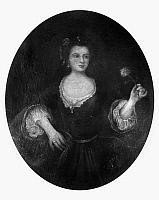 0109063 © Granger - Historical Picture ArchiveBETSY FAUNTLEROY.   Affluent American, daughter of William and Elizabeth Fauntleroy, and an early love interest of president George Washington. Painting, 18th century.