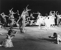 0066273 © Granger - Historical Picture ArchiveTHE BOLSHOI BALLET, 1957.   Scene from a performance of '